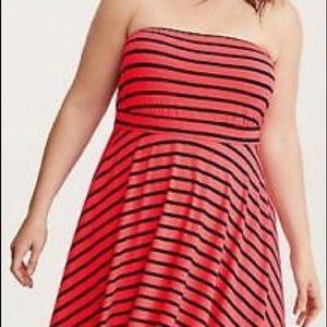 Torrid Coral Dress